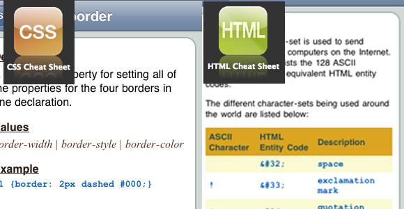 Css and Html cheat sheets