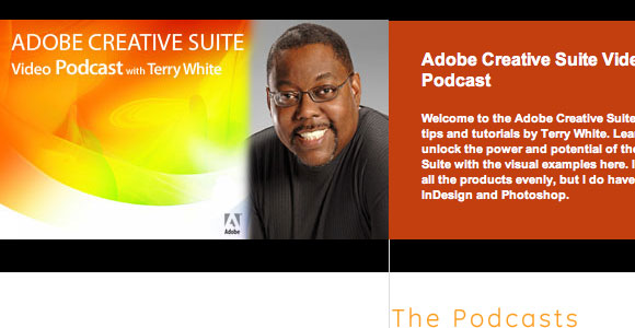 Adobe Creative Suite podcast