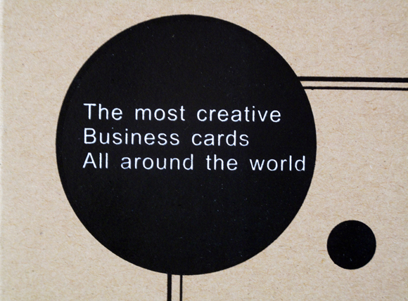 The image of business cards today