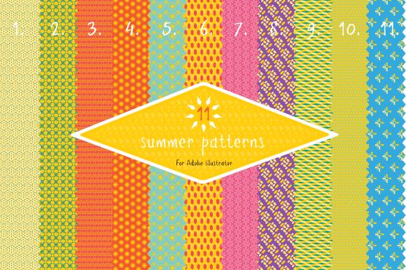 Summer fabric patterns